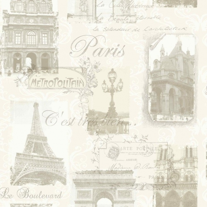 Arthouse Paris Wallpaper Neutral (692000)