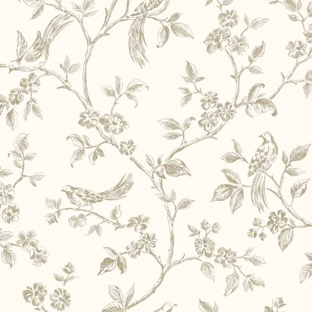 Fine Decor Birds From Live Laugh Love Collection Cream Gold