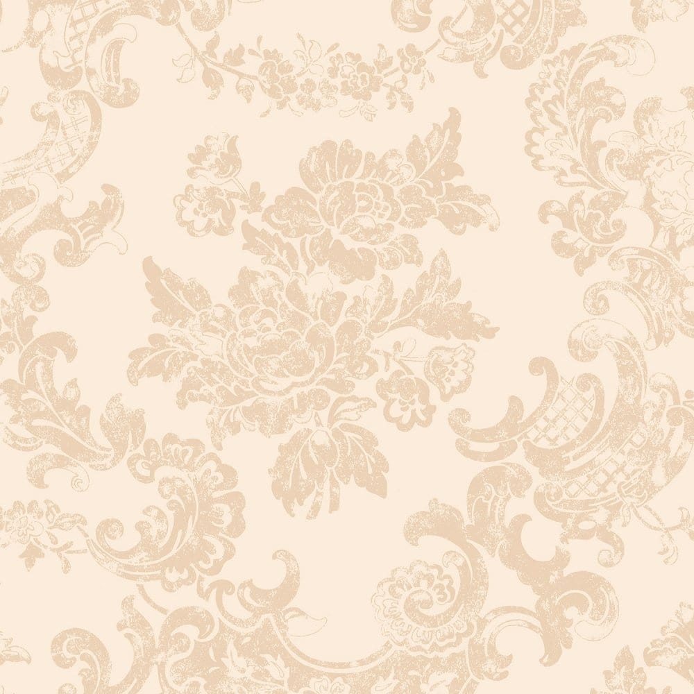 Coloroll Vintage Lace Wallpaper Country Cream M0757 Wallpaper
