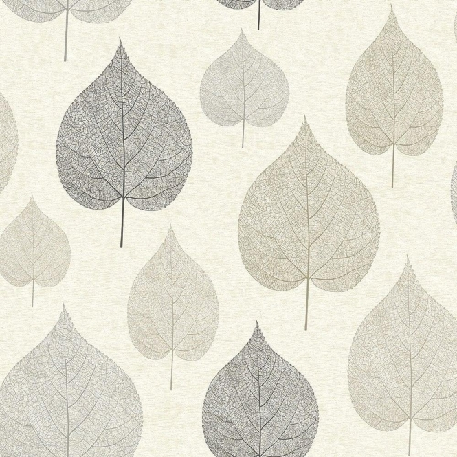 Crown Signature Leaf Wallpaper Natural (M1070)