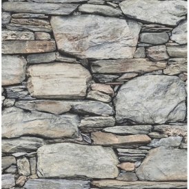 Stone Effect Wallpaper From I Love