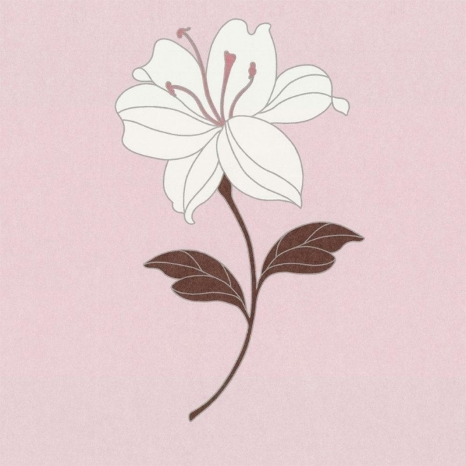 Casadeco Eva Wallpaper Soft Pink, Cream, Brown (11474107)