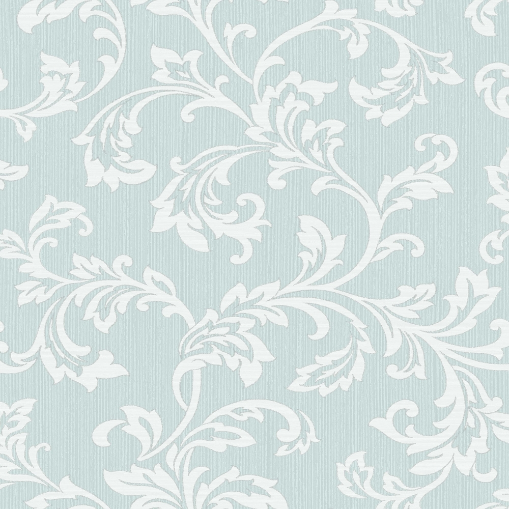 Fine Decor Cavendish Floral Wallpaper Teal Fd40992 Wallpaper