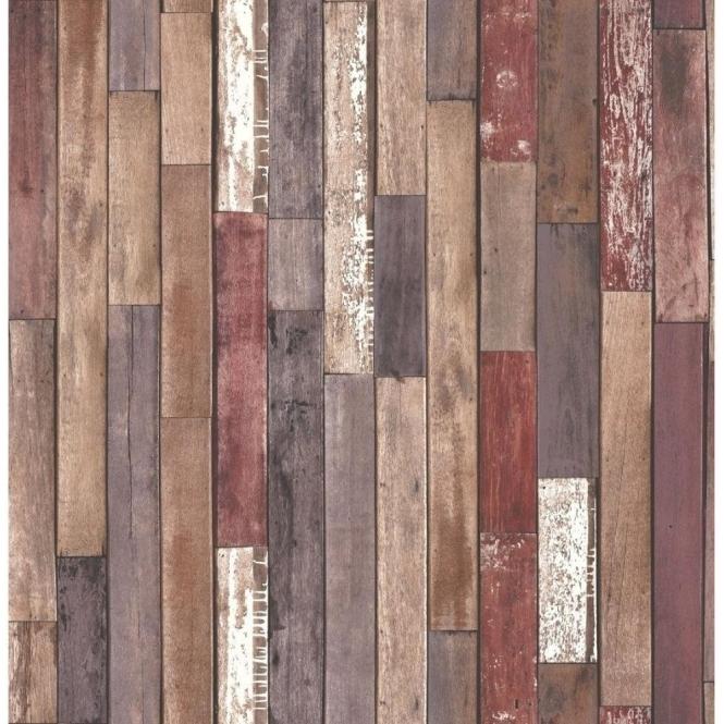Fine Decor Distinctive Parquet Wood Reclaim Wallpaper