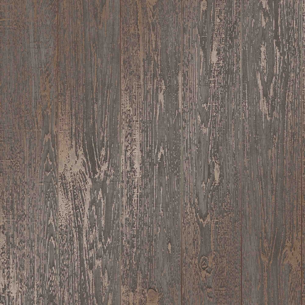I Love Wallpaper Metallic Plank Wallpaper Brown Ilw980081