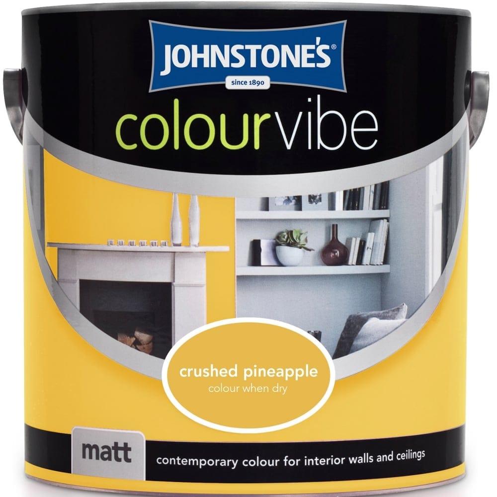Johnstone S Crushed Pineapple Colour Vibe Emulsion Paint 2