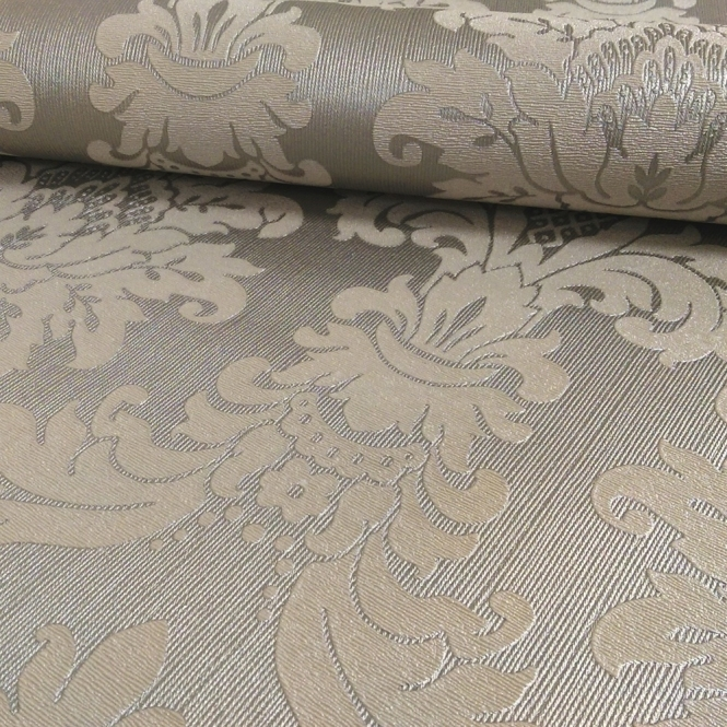 Arthouse Messina Damask Wallpaper Silver (261004)
