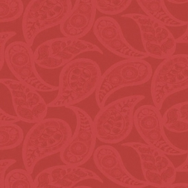 Midnight 2 Floral Wallpaper Red (19198124)
