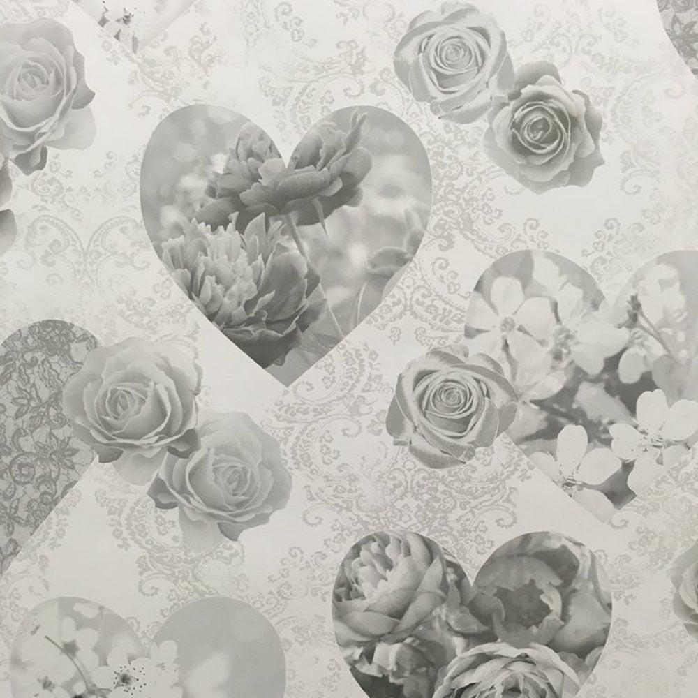 novelty heart wallpaper grey fd41914 p4142 9575 image