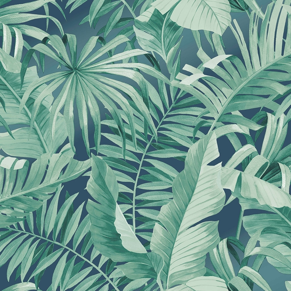 Lucie Annabel Palma Tropical Wallpaper Emerald Wallpaper From I