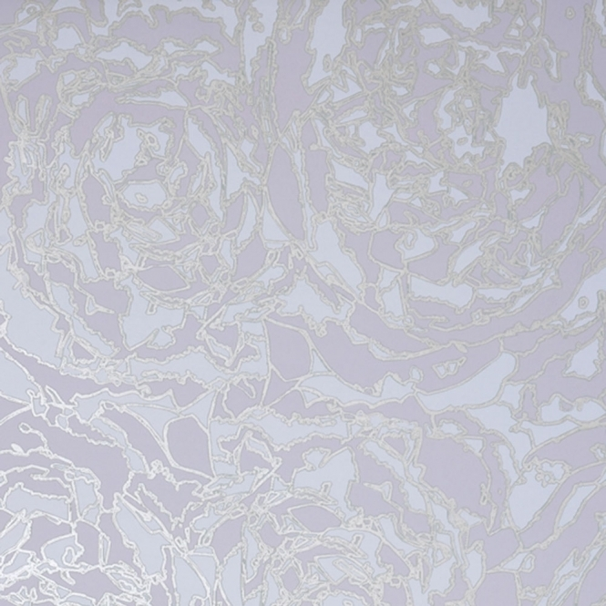 Jocelyn Warner Peony Hand Screen Printed Floral Wallpaper Grey (JWP-702)