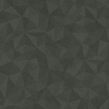 Metal Spirit Geometric Wallpaper Black, Grey (587722)