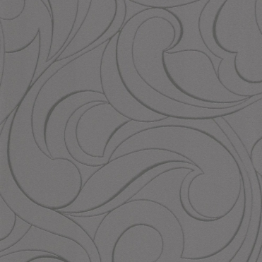 Plaisir Whisps Wallpaper Charcoal, Silver (887105)