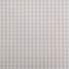 Rosalie Checked Wallpaper White, Pink (259308)