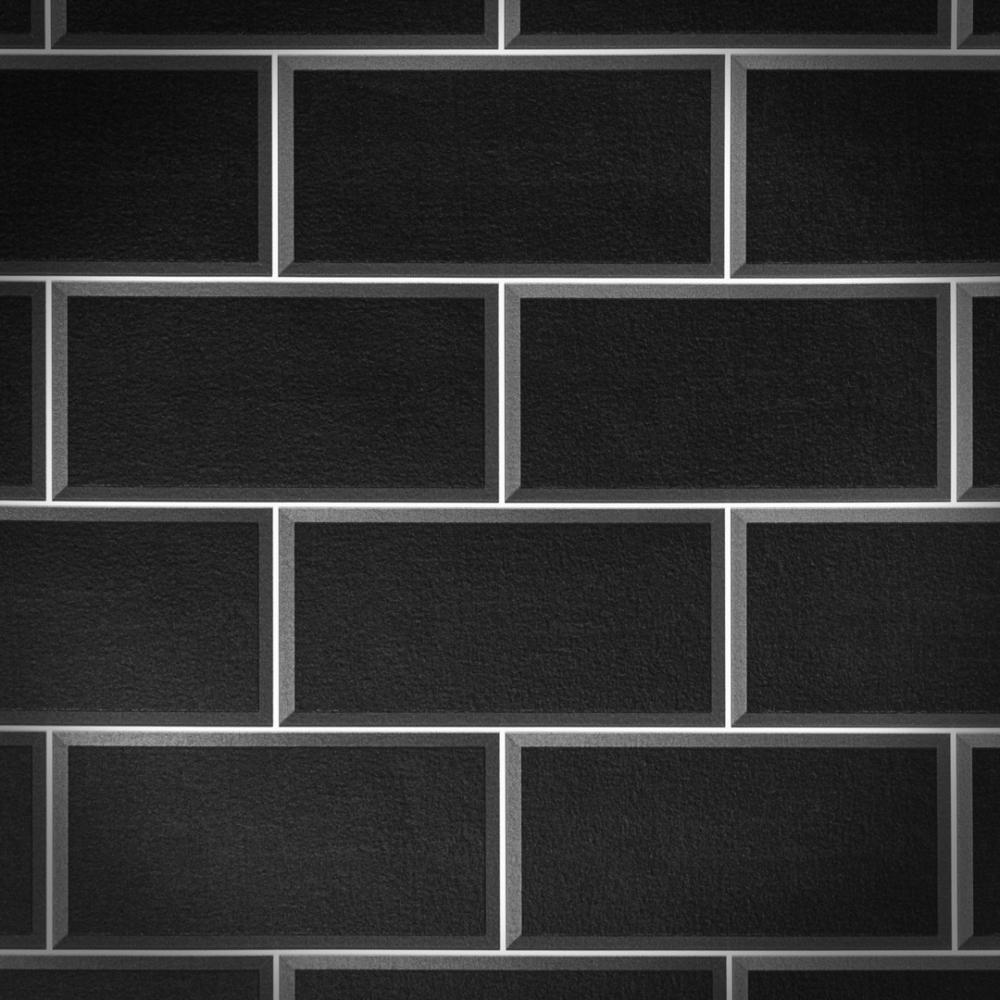 Arthouse Romano Brick Tile Wallpaper Black Wallpaper From I Love