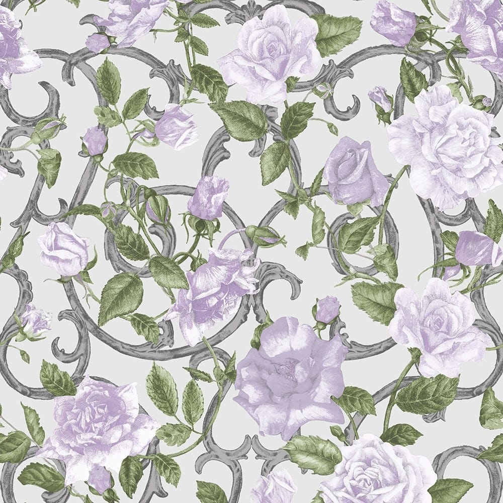 3d Embossed Look Tulip Floral Wallpaper Mural Wallmur