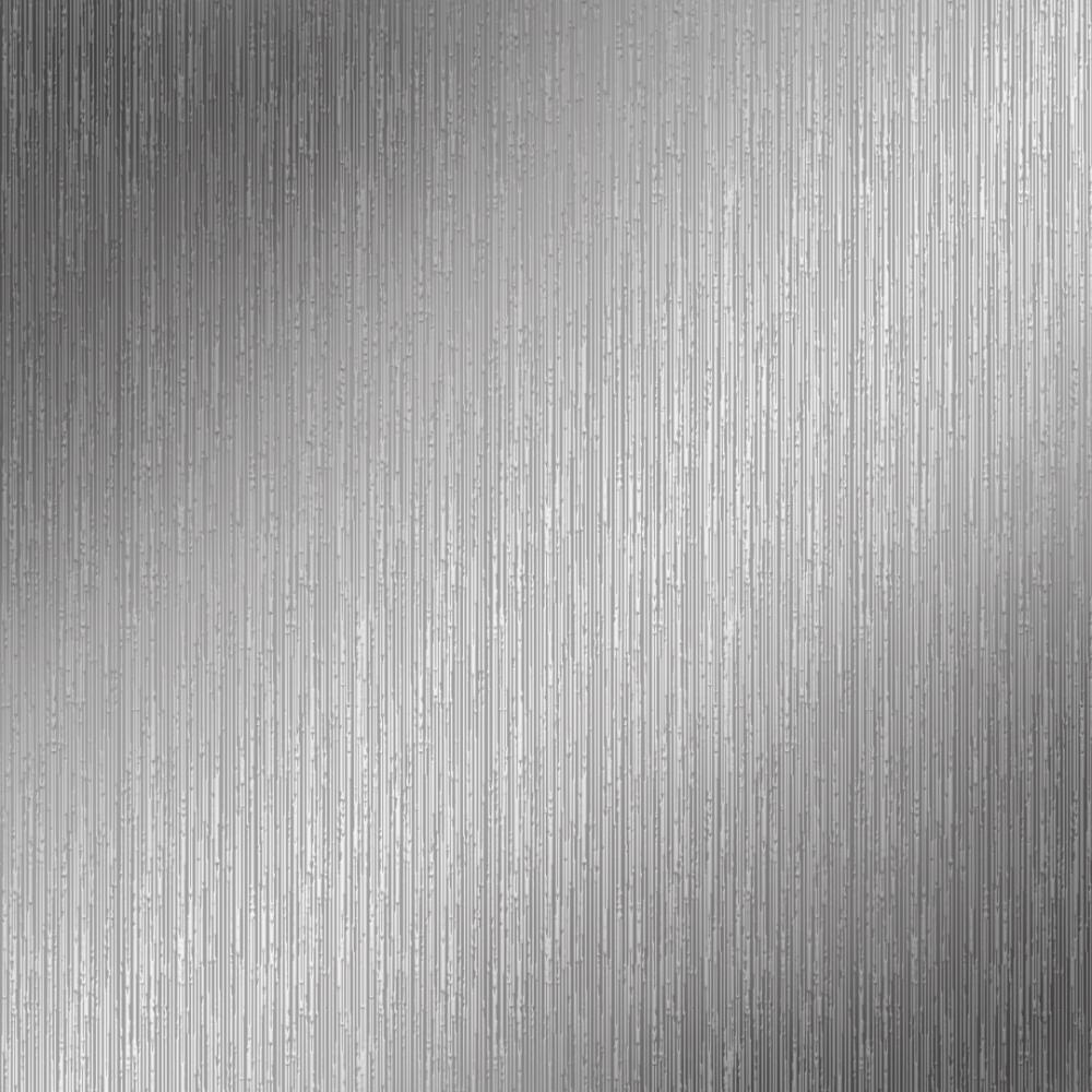 Henderson Interiors Sapphire Plain Wallpaper Silver