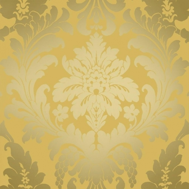 I Love Wallpaper Shimmer Metallic Grande Damask Wallpaper