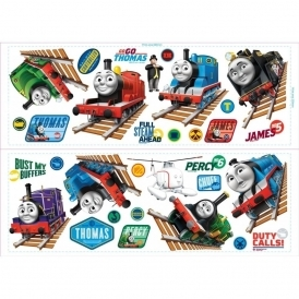Thomas & Friends Harold The Helicopter Wall Stickers Stikarounds (SA30171)