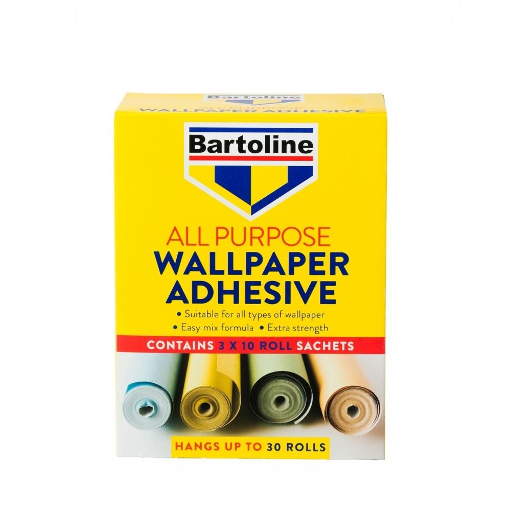 Buy Bartoline All Purpose Wallpaper Adhesive 30 Roll Pack