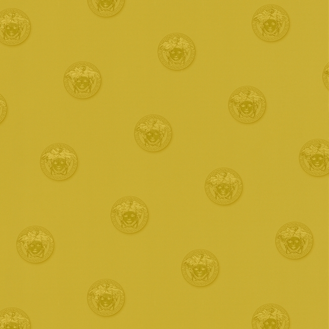 Versace Vanitas Motif Wallpaper, Gold (34862-4)