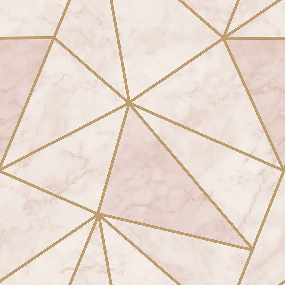 Girls Rose Gold Wallpaper: House Of Alice Zara Shimmer Metallic Wallpaper Soft Pink